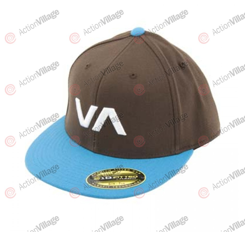 RVCA VA Sluggers - Brown / Aqua Fresh - Men's Hat