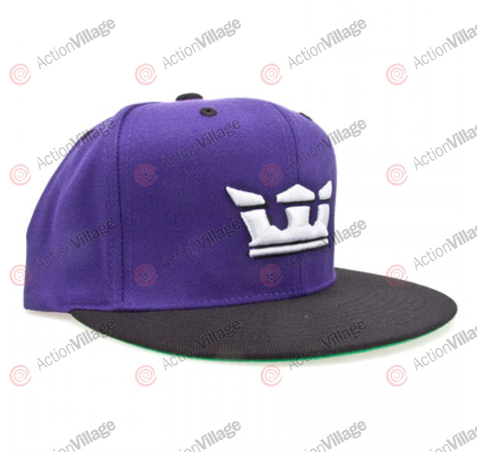 Supra Crown Snap Cap - Purple - Men's Hat