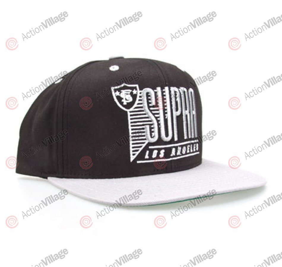 Supra Raided Starter Cap - Black - Men's Hat