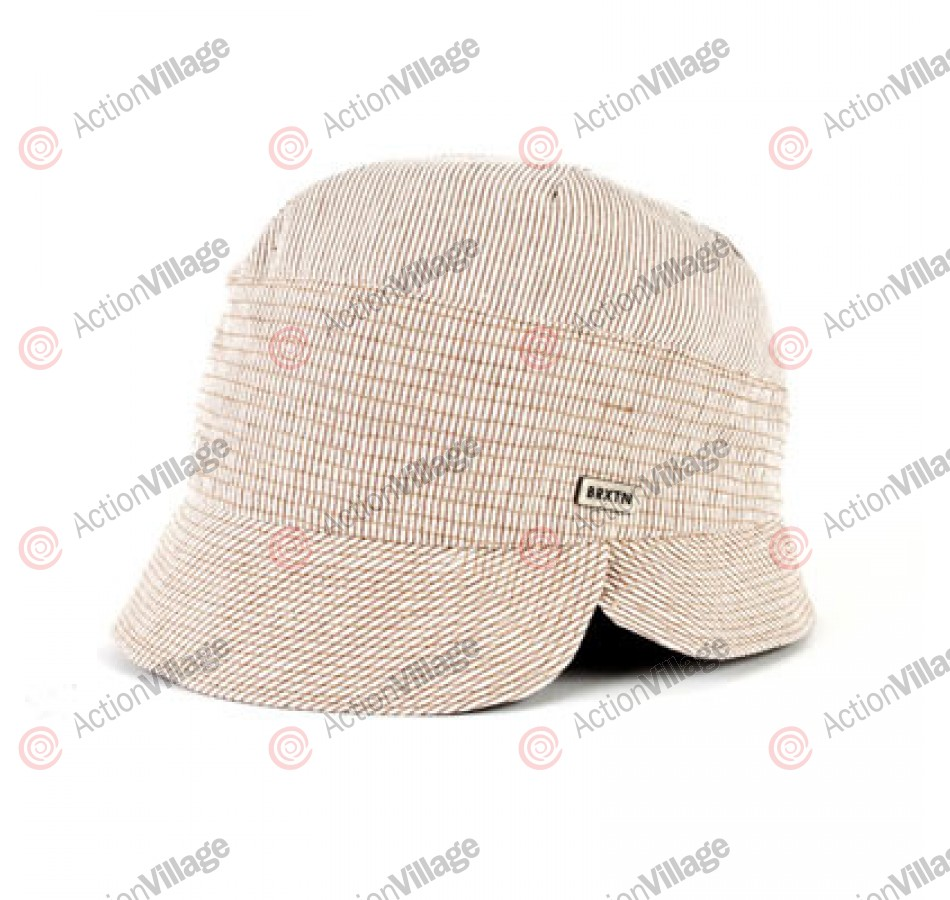 Brixton Slip - Cream / Brown Stripe - Women's Hat