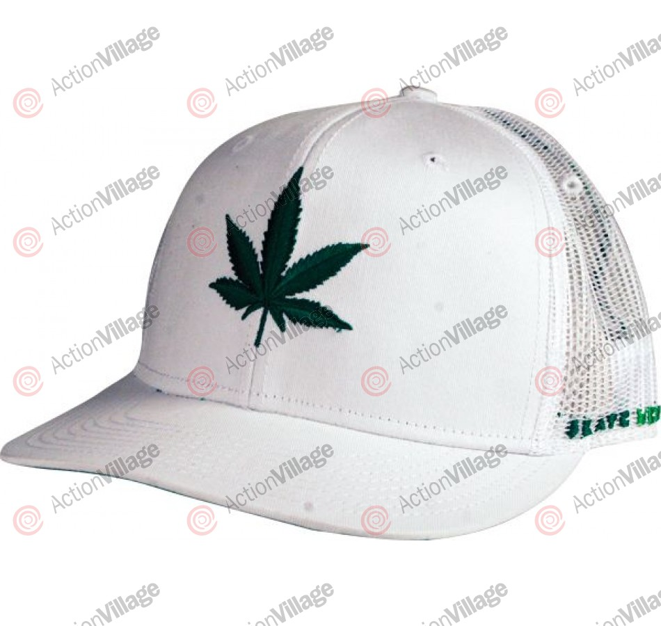 Skate Mental 4:20 Trucker Hat - White - Hat