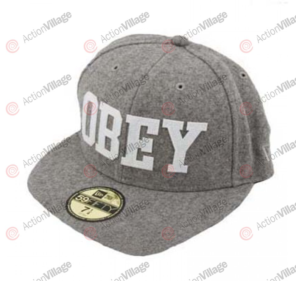 Obey Standard Issue - Men's Hats - Heather Grey
