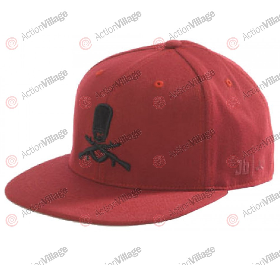 Ride JB Collaboration - One Size Fits All - Red - Hat