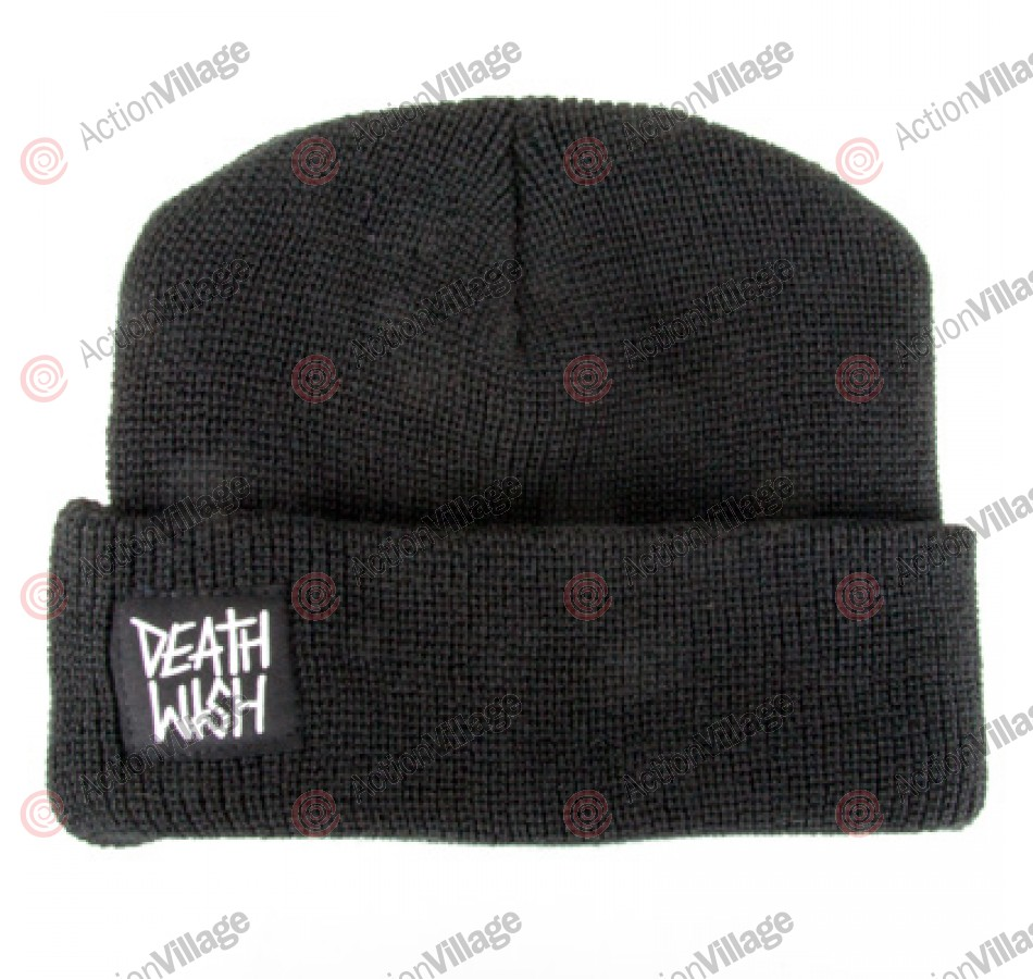 Deathwish Logo - Men's Beanie - Black