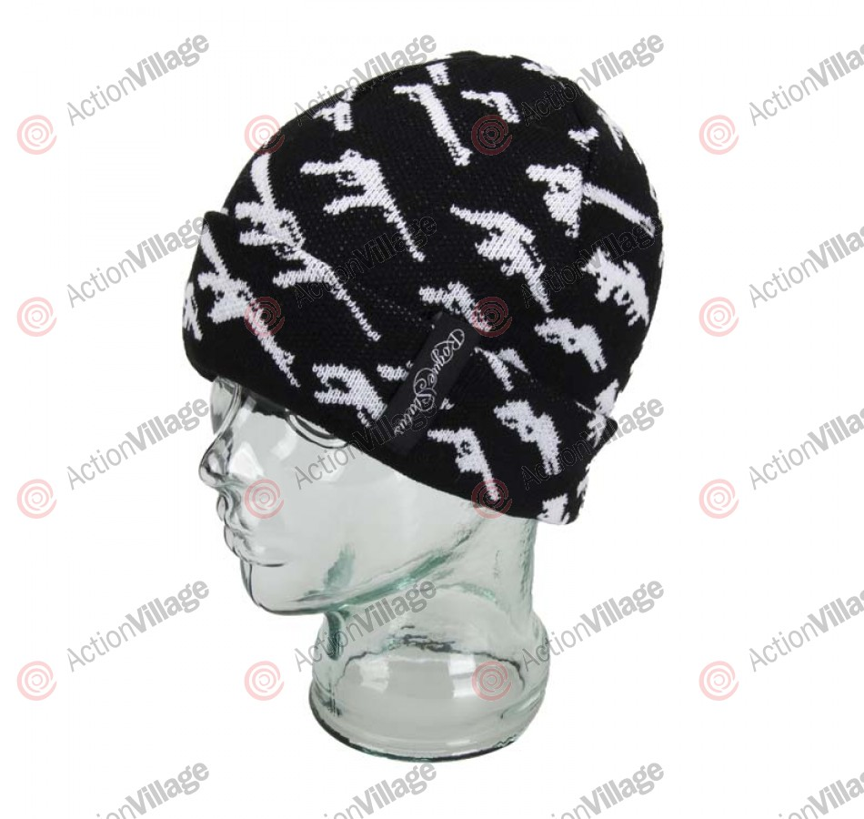 Rogue Status Gunshow - Men's Beanie - Black / White
