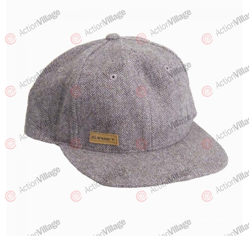 Elwood Paine - Men's Hat - Grey Tweed