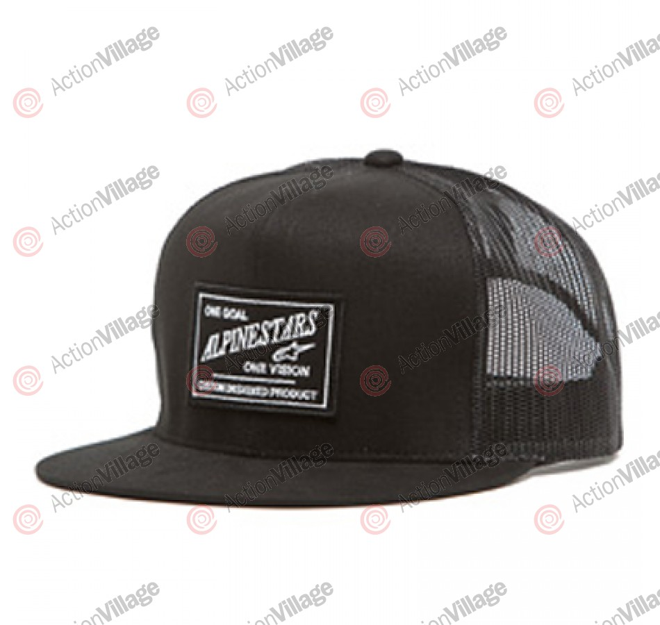 Alpinestars Supply Trucker - Black - Mens Hat