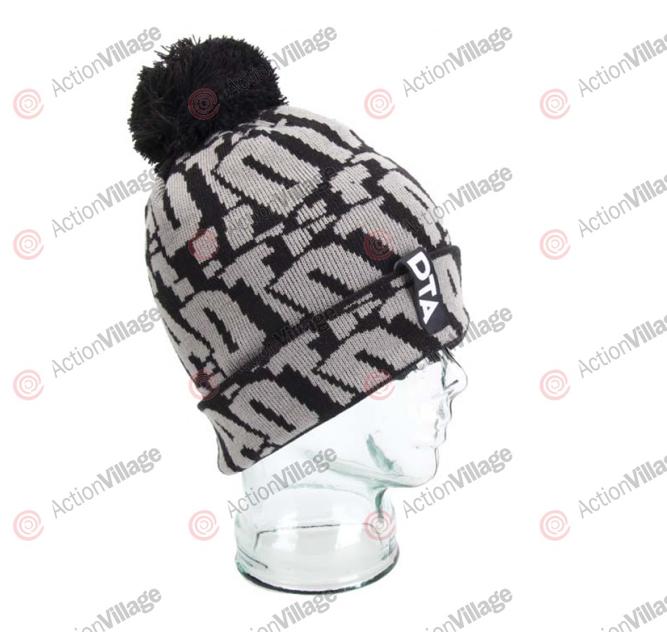 DTA Slapsy Men's - Black / Grey - Beanie