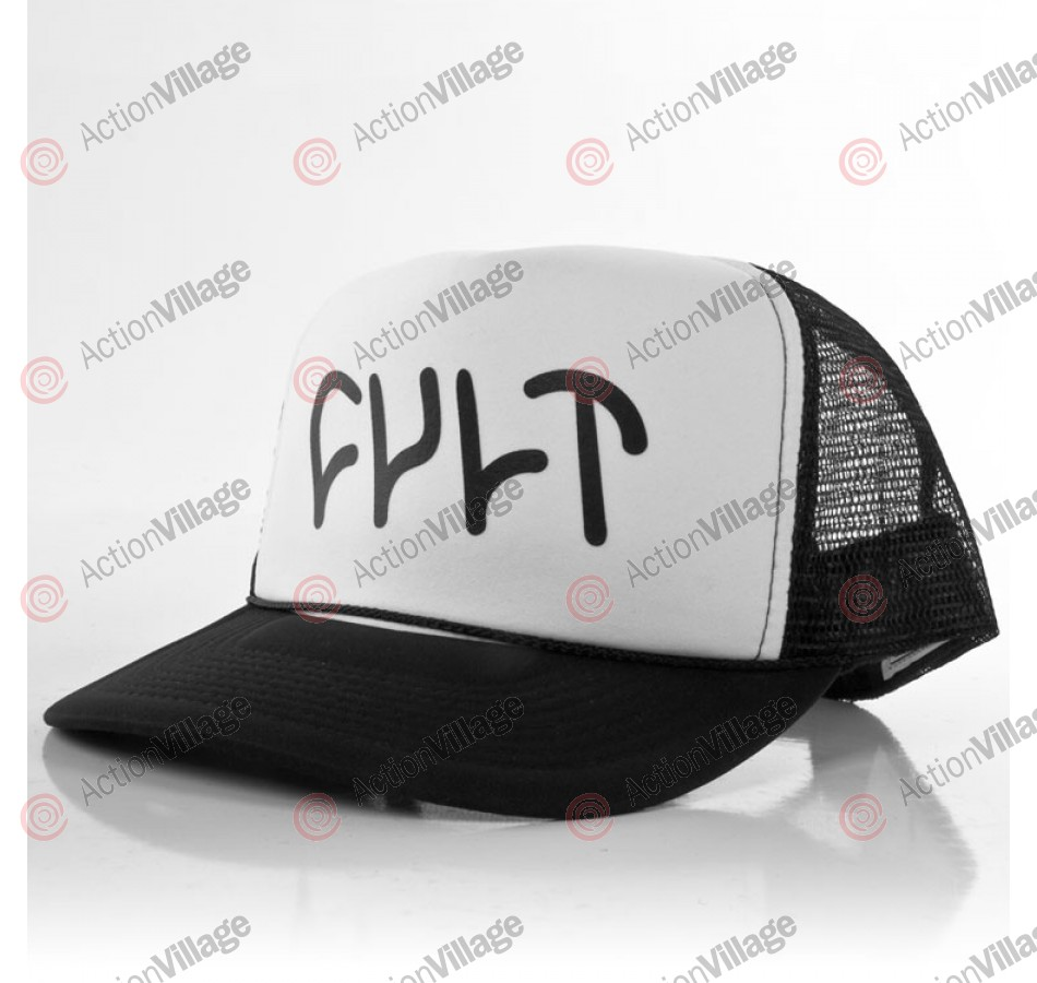 Cult Logo - Black / White - Men's Hat