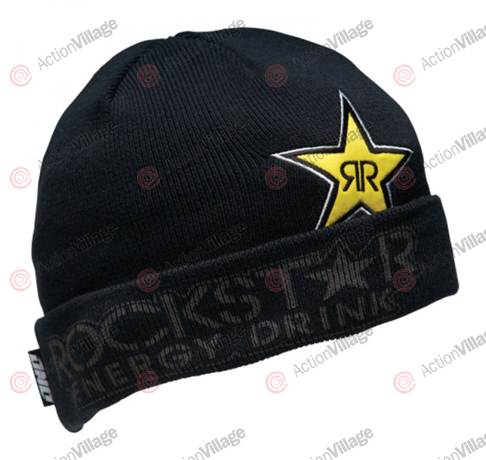 Rockstar Duet - Men's Beanie - Black