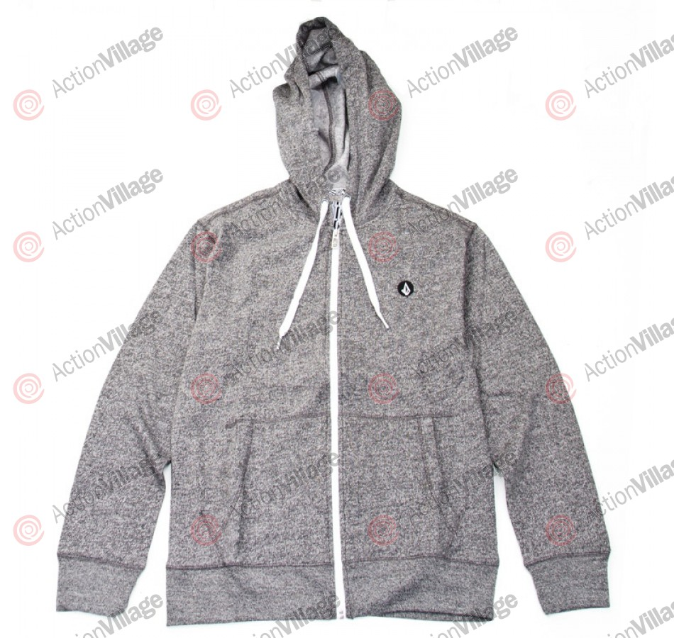 Volcom Solid Slim Marled - Steel Grey - Men's Sweatshirt - XX Large