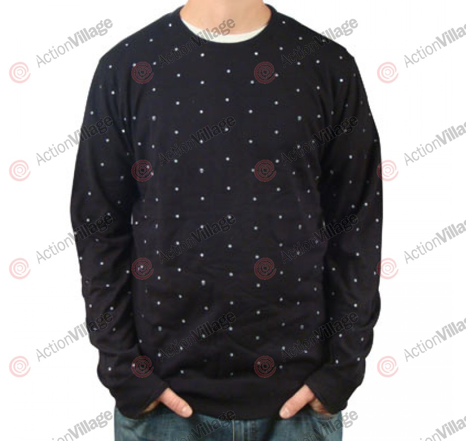 Vans Skulldots - Men's Sweatshirt - Black - X Large
