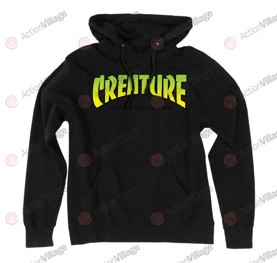 Creature The Bible Pullover Hooded L/S - Black - Men's Sweatshirt