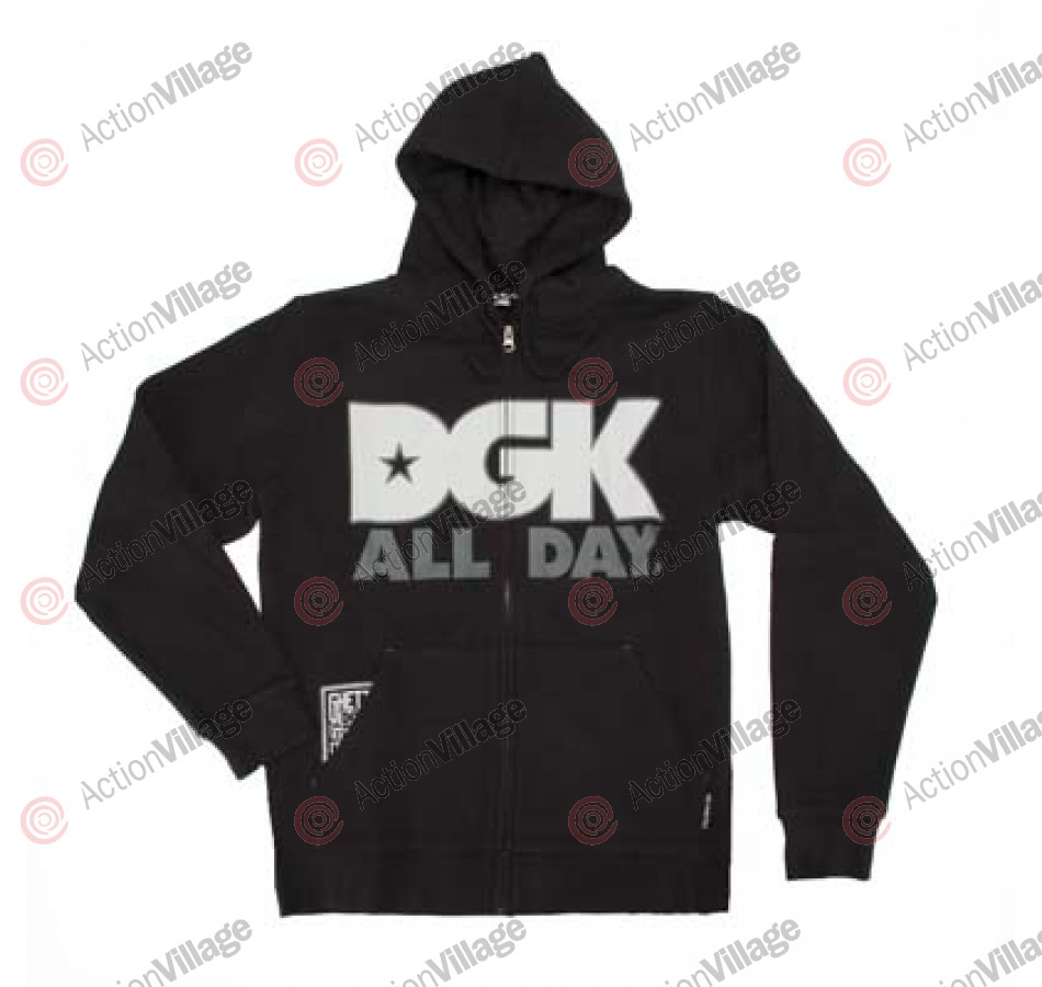 DGK All Day - Men's Sweatshirt - Black