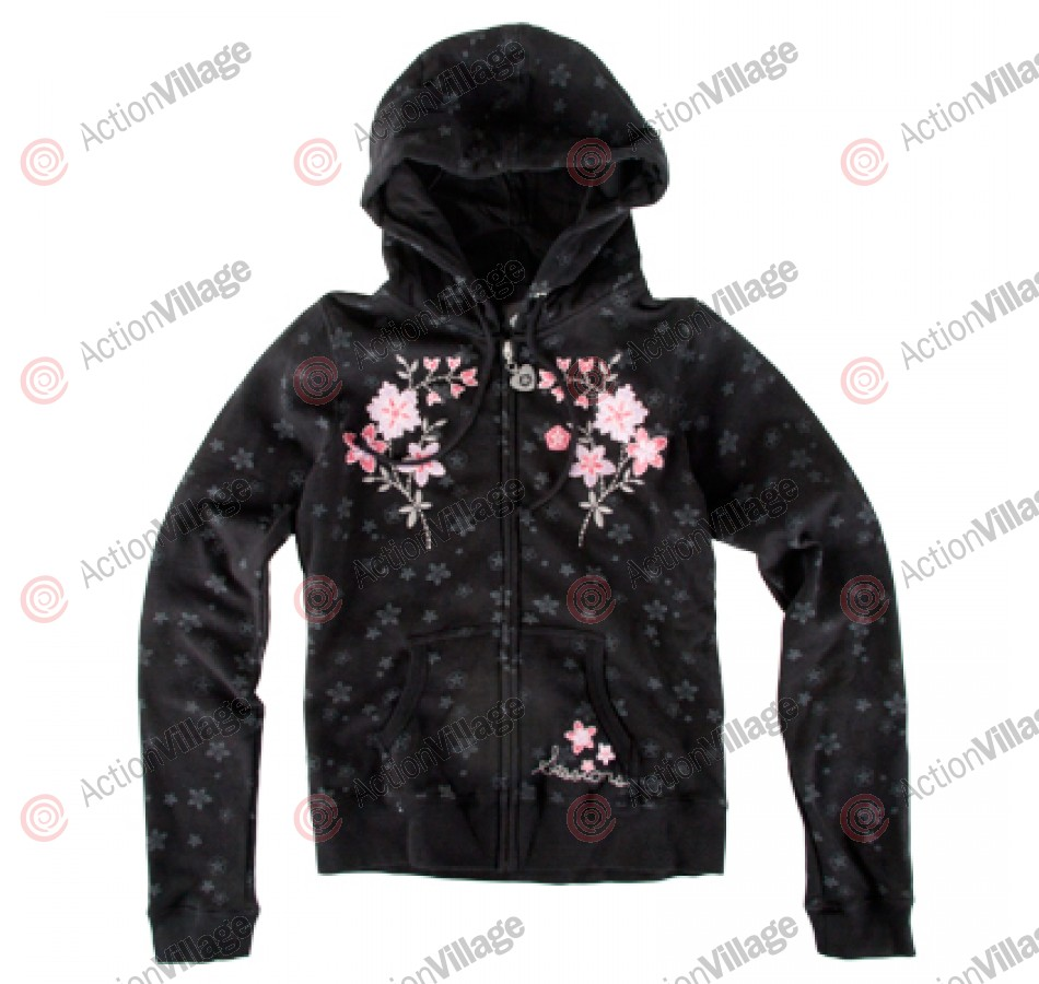 Sessions BlossomMagic - Black - Women's Sweatshirt - Small