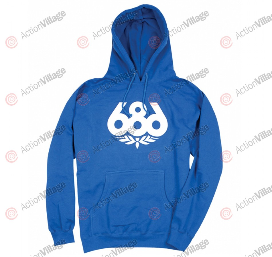 686 Wreath - Royal - Men's Sweatshirt