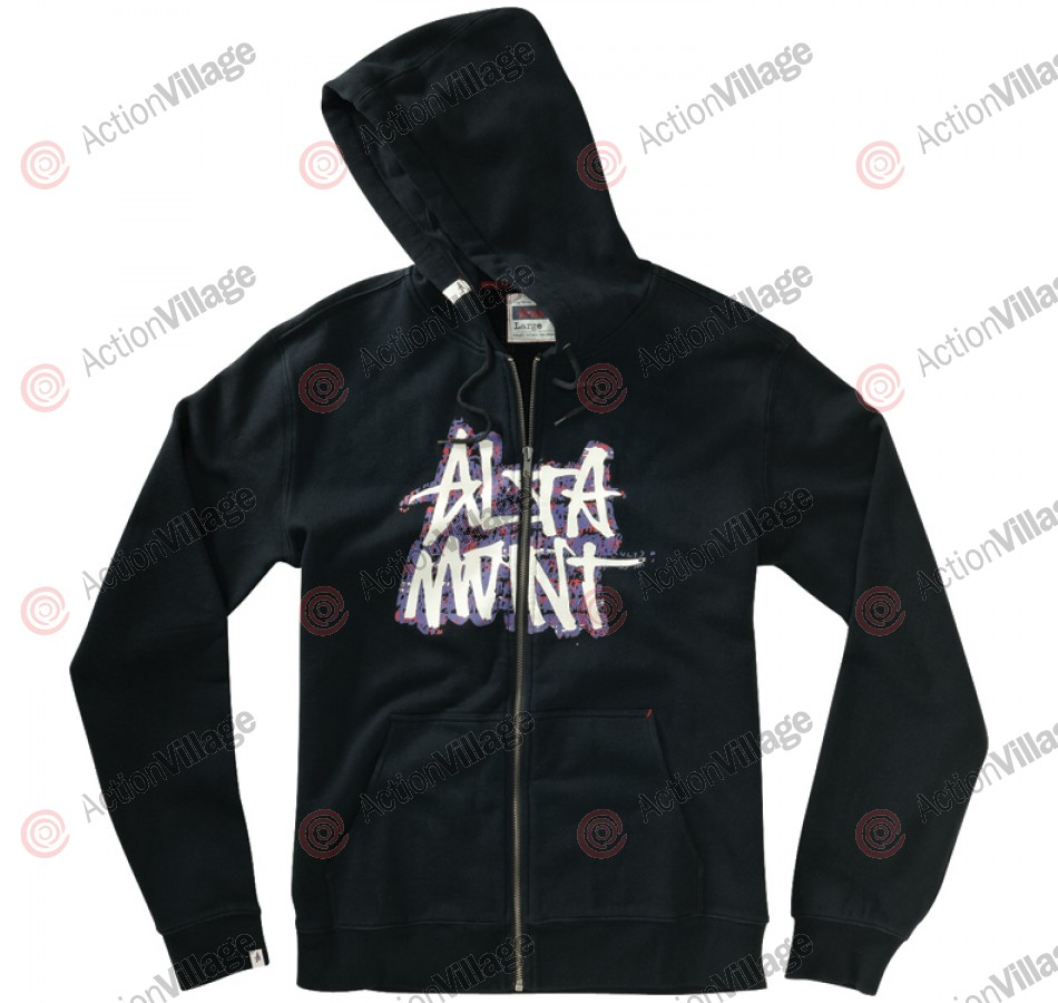 Altamont Unscribble - Black / Purple - Men's Sweatshirt - Large