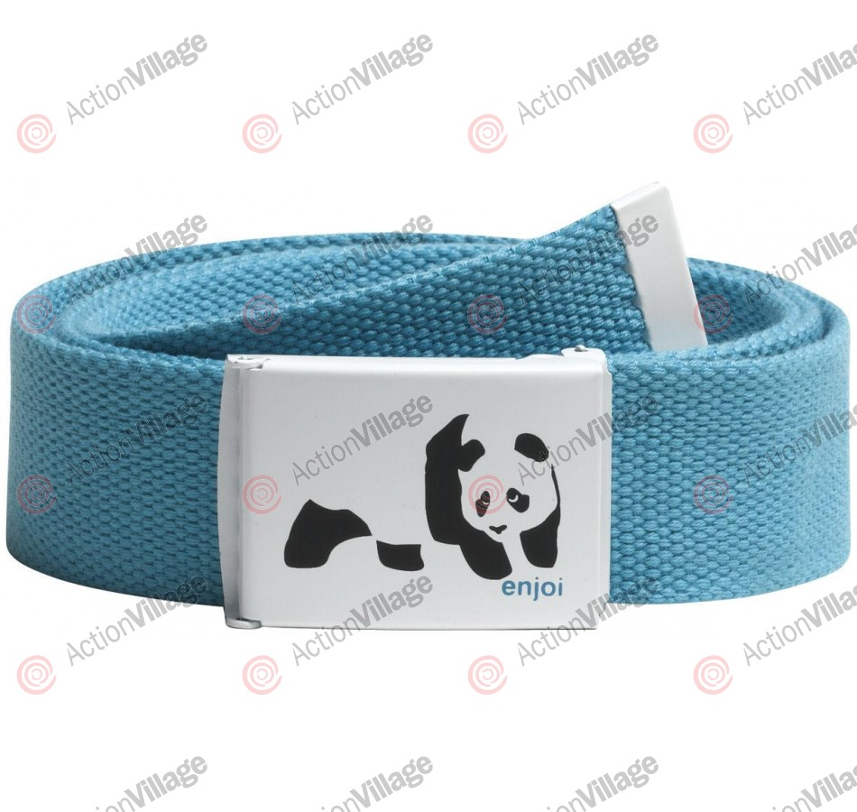 Enjoi Panda Web Belt - Turquoise - Belt