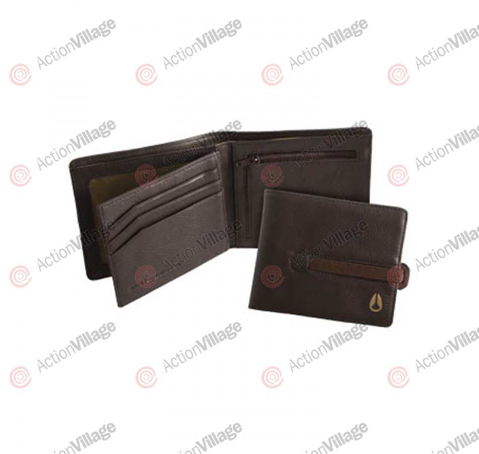 Nixon Spire Big Bill Strap - Wallet - Brown