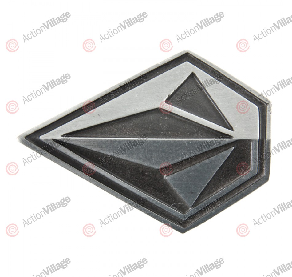 Volcom Oblique - Belt Buckle - Pewter