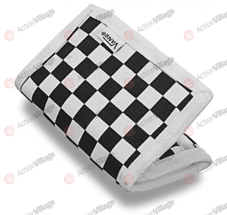 Vans Slipped - Men's Wallet - Black / White