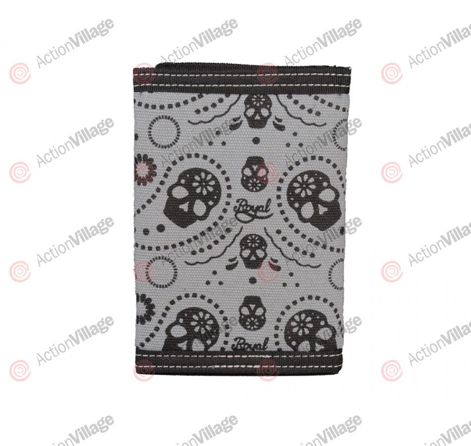 Royal Skull -Tri-fold Wallet