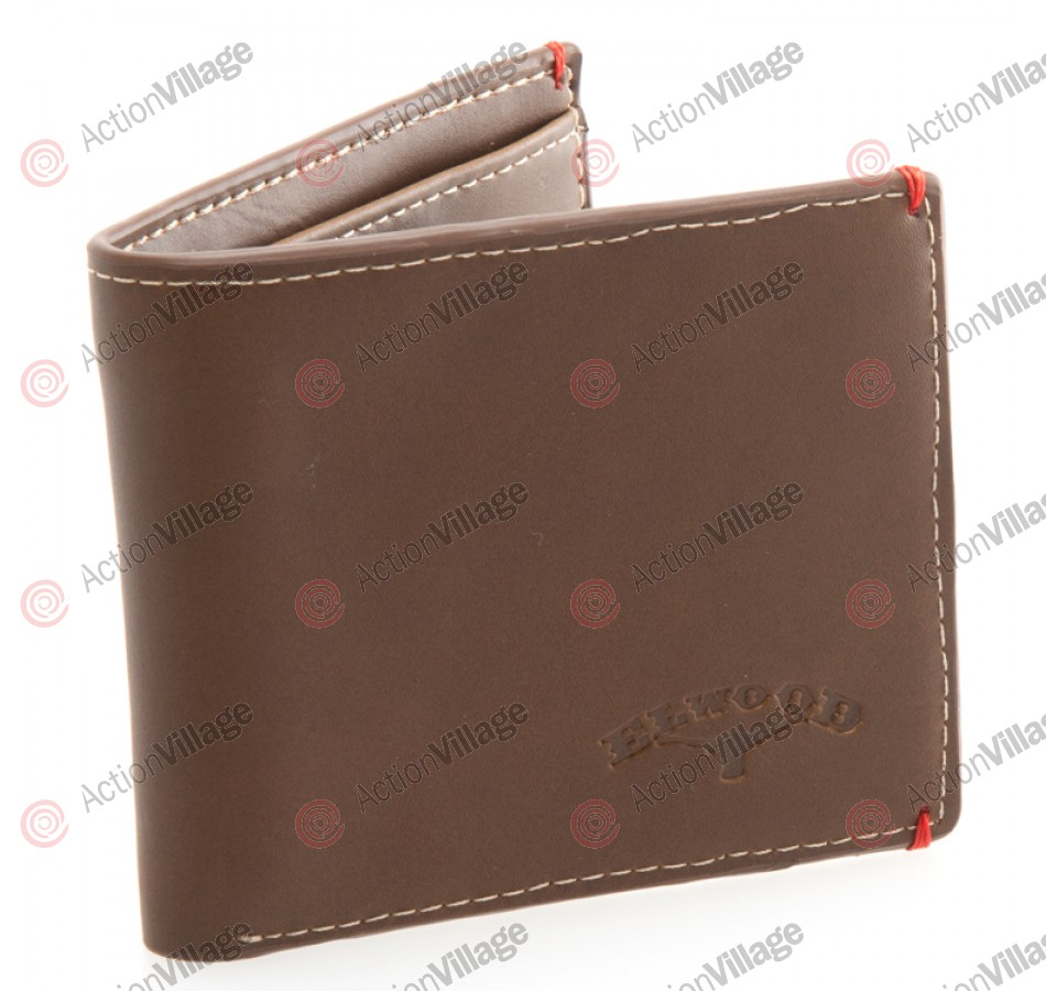 Elwood Gin Mill - Men's Wallet - Brown Leather