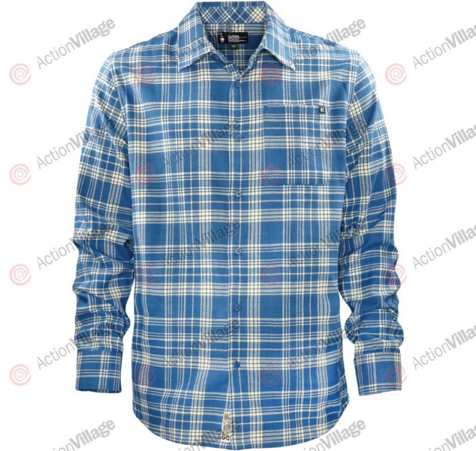 Etnies Chi Town - Royal - Men's Collared Shirt