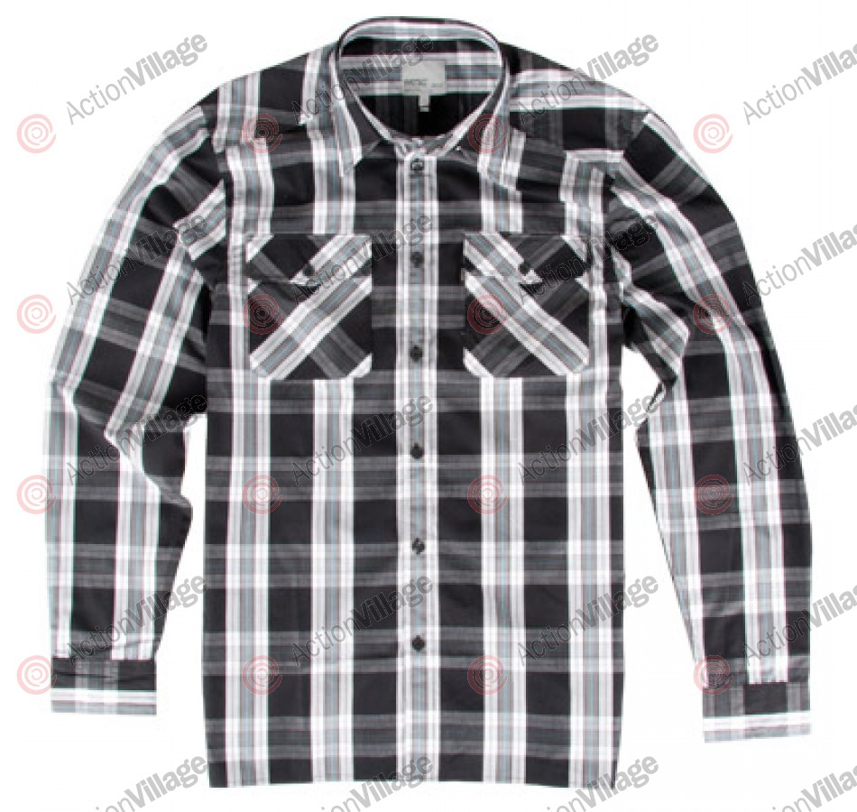 WeSC Hogge - Men's Collared Shirt- Black
