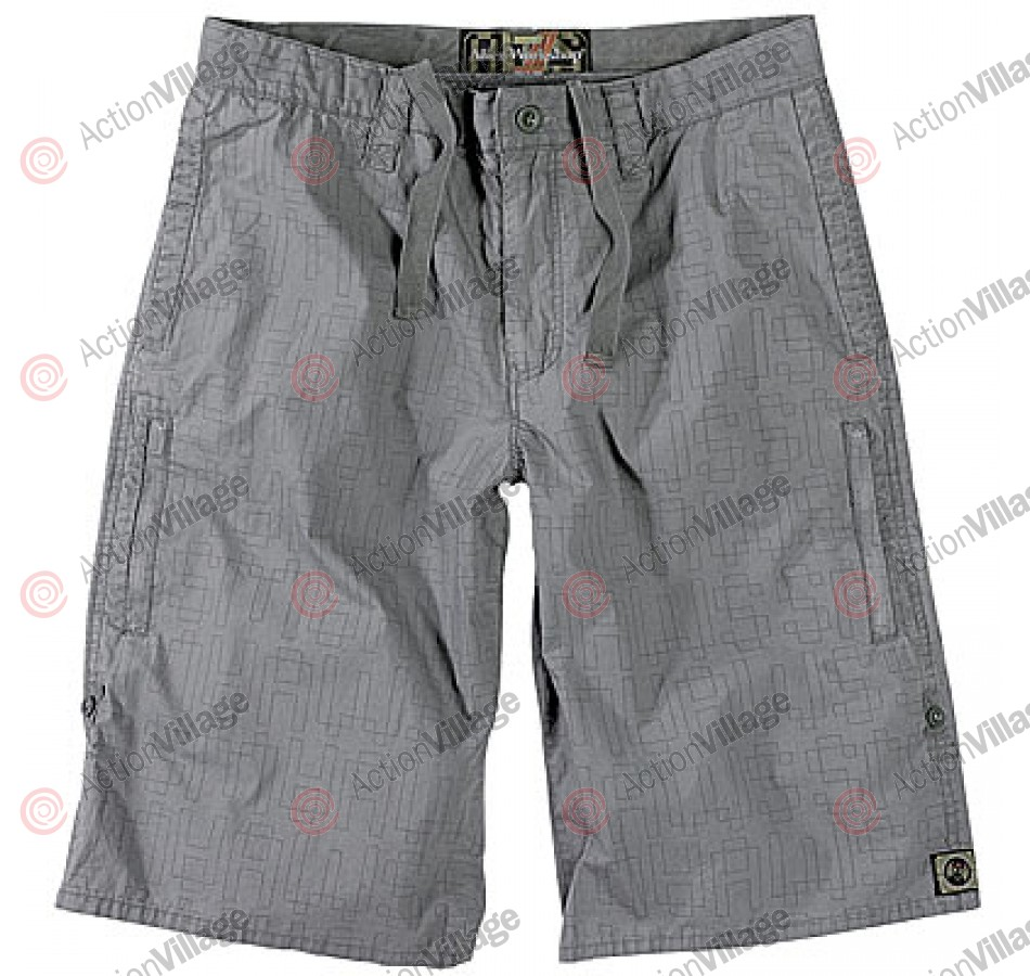Alien Workshop OsloPrint - Grey - Youth Shorts - Size 26