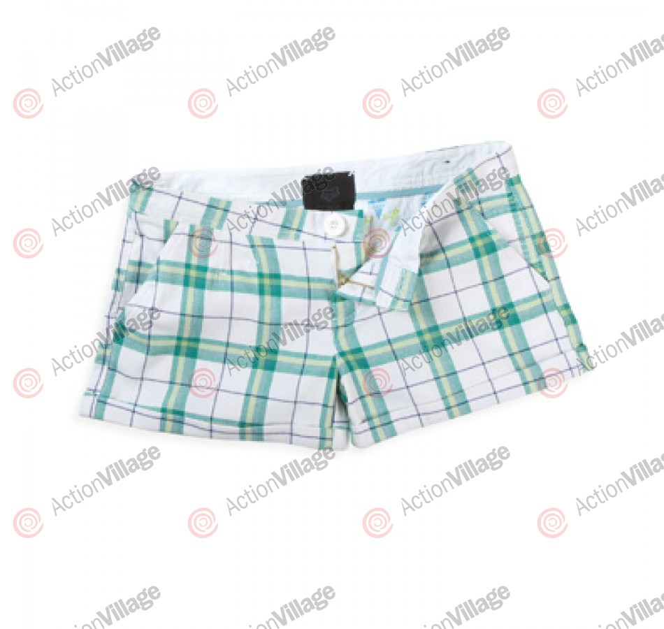 Fox Starboard - Girl's Shorts - Green - 5