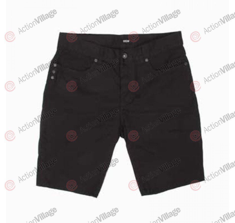 KR3W Canvas Cut Off - Black - Men's Shorts