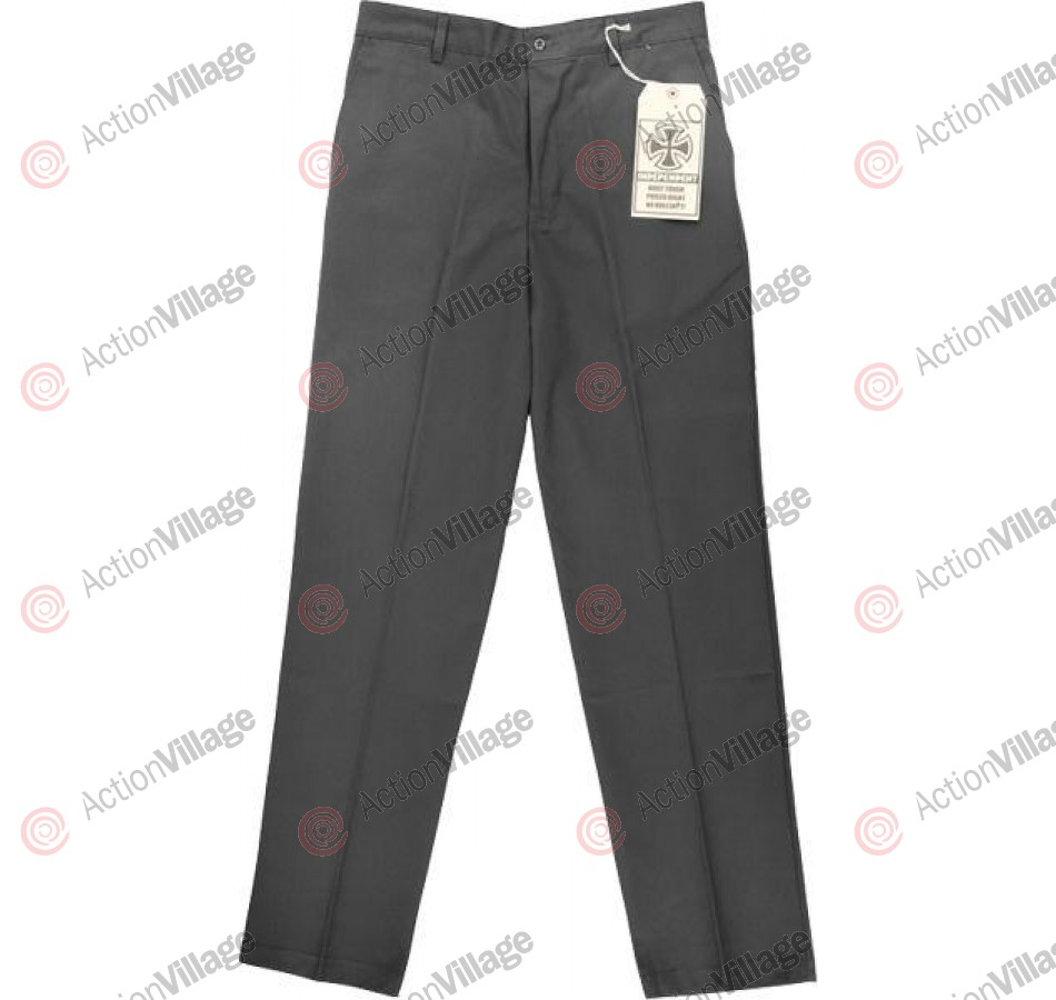 Independent NO BS Pants Chino Bottom - Charcoal - Mens Pants