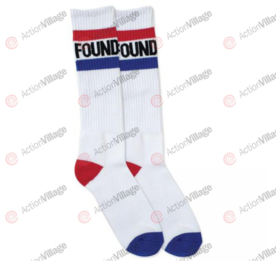 Foundation Stripes - White / American - Socks