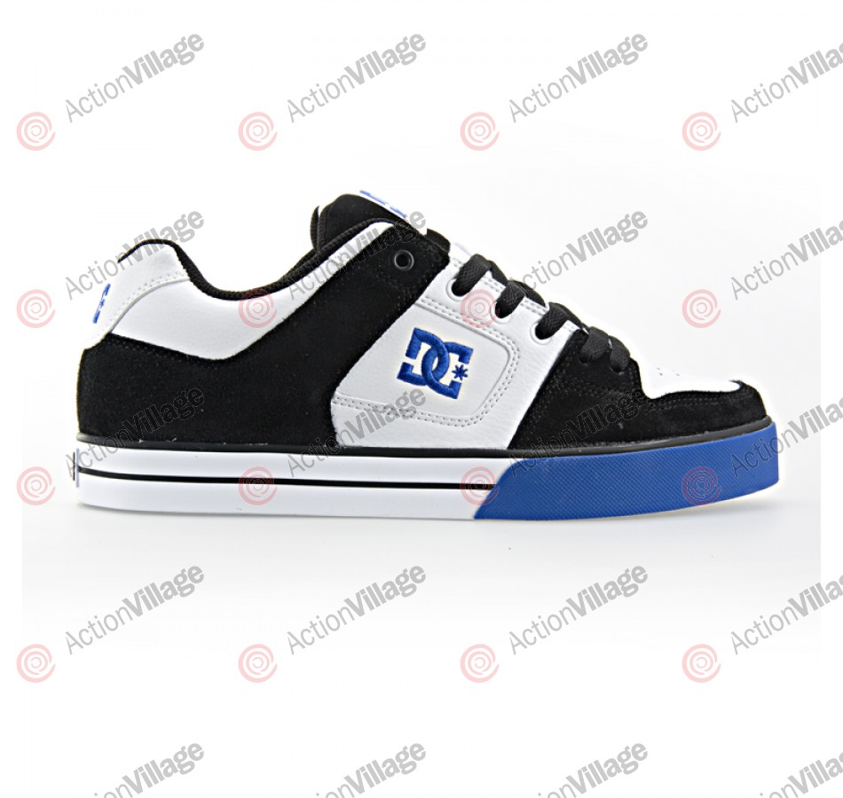 DC Pure - Men's Shoes Black / White / Royal