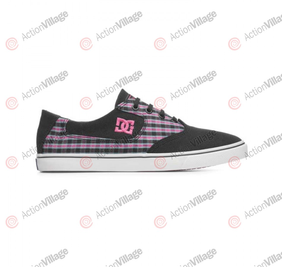 DC Flash - Men's Shoes Black / Crazy Pink