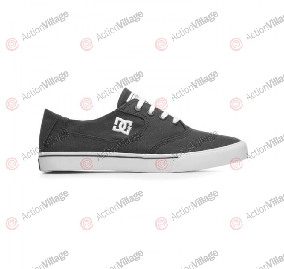 DC Woman's Flash Canvas -  Women's Shoes Dark Shadow / White