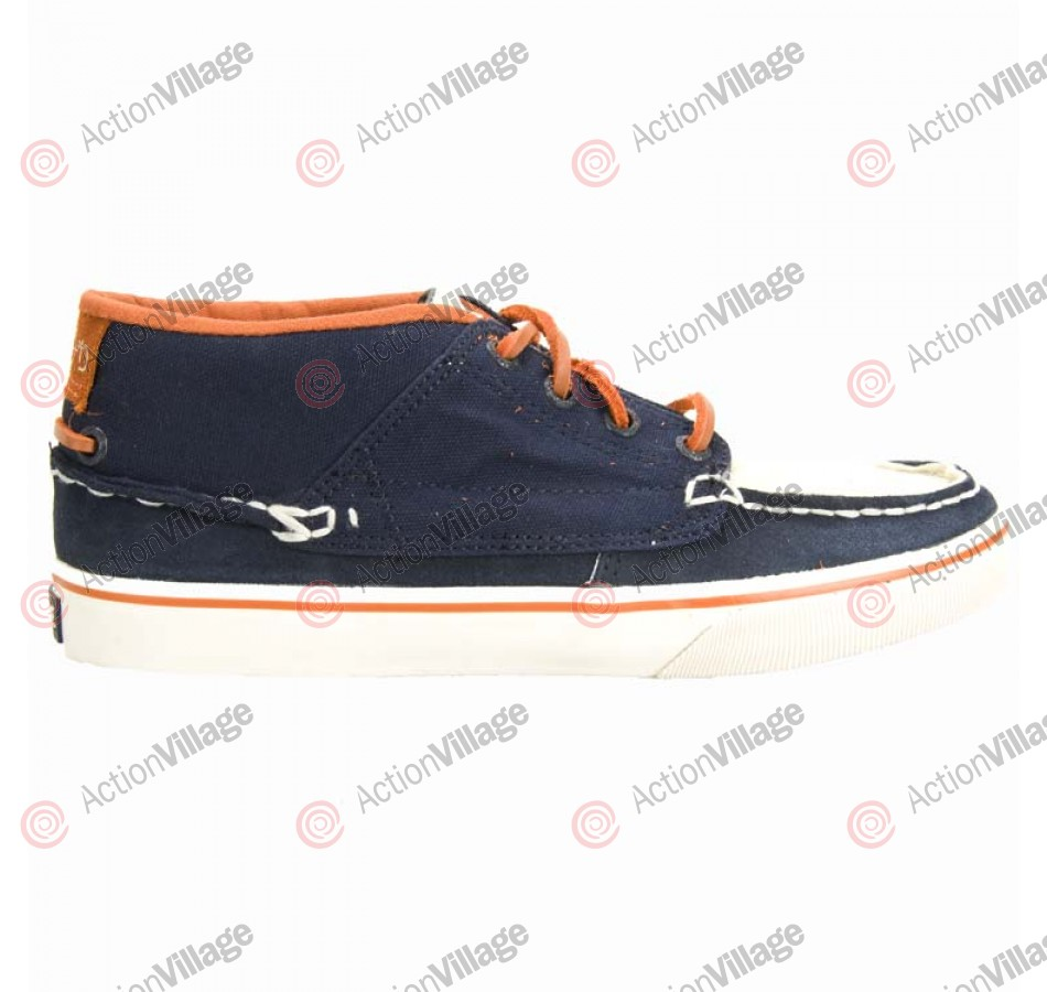 Globe Bender - Men's Shoes Navy / Antique / Burnt Orange