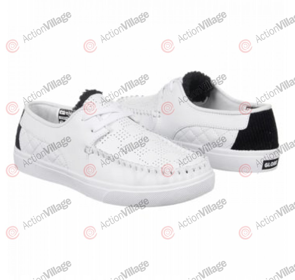 Globe Castro United - Men's Shoes - White/White/Black
