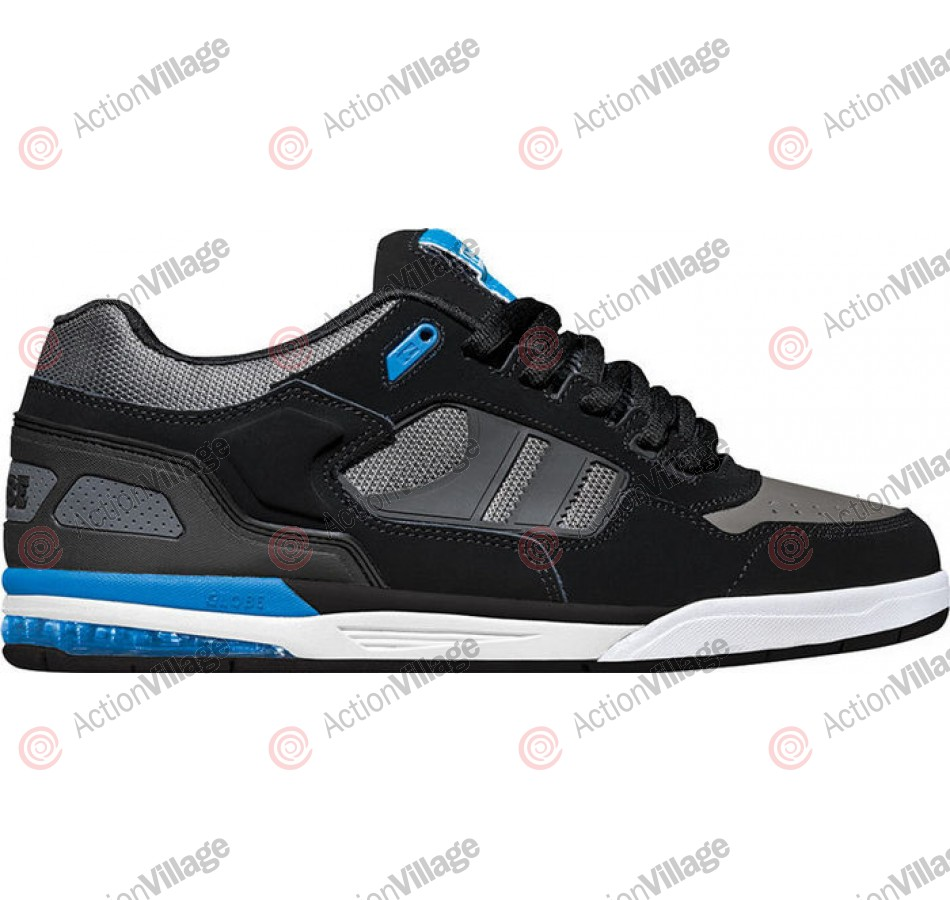 Globe Viper - Black/Charcoal/Cyan - Mens Skate Shoes