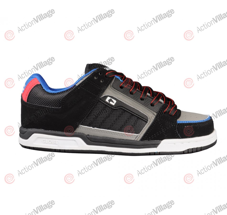 Globe Liberty - Black/Cobalt/Red - Mens Skate Shoes