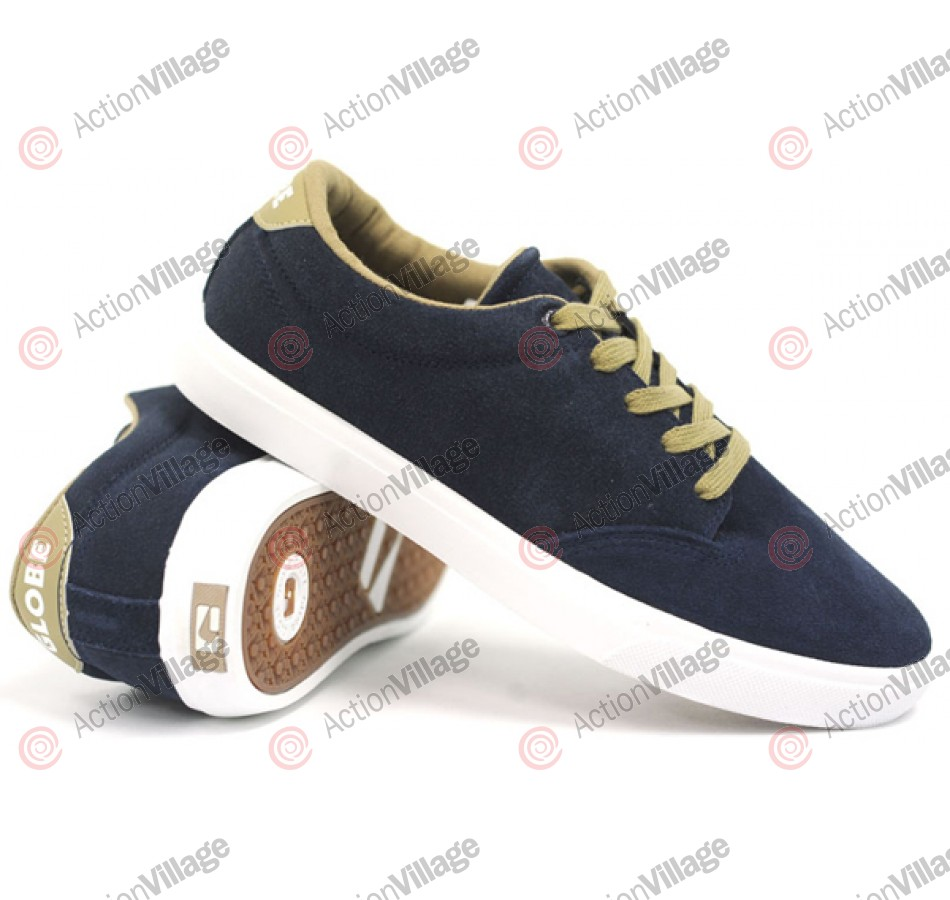 Globe Lighthouse - Navy/Light Taupe - Skateboard Shoes