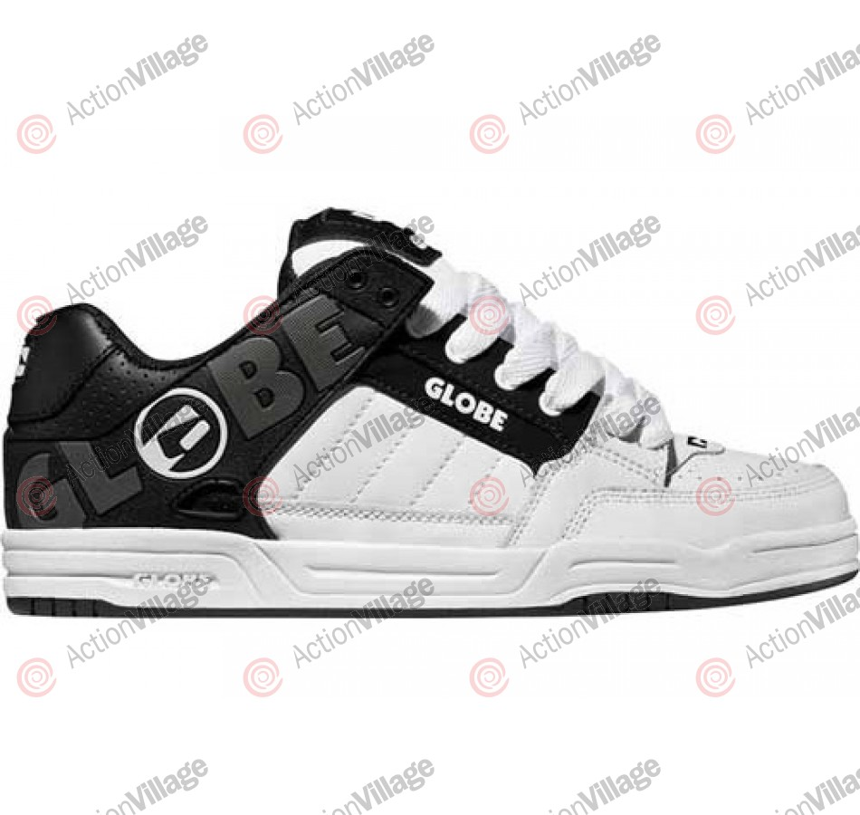 Globe Tilt - Black/Black/White TPR - Skateboard Shoes