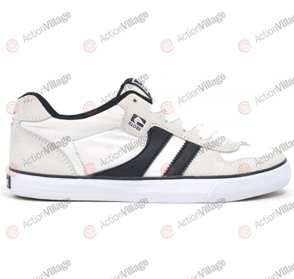 Globe Encore - White/Black/Gum - Skateboarding Shoes