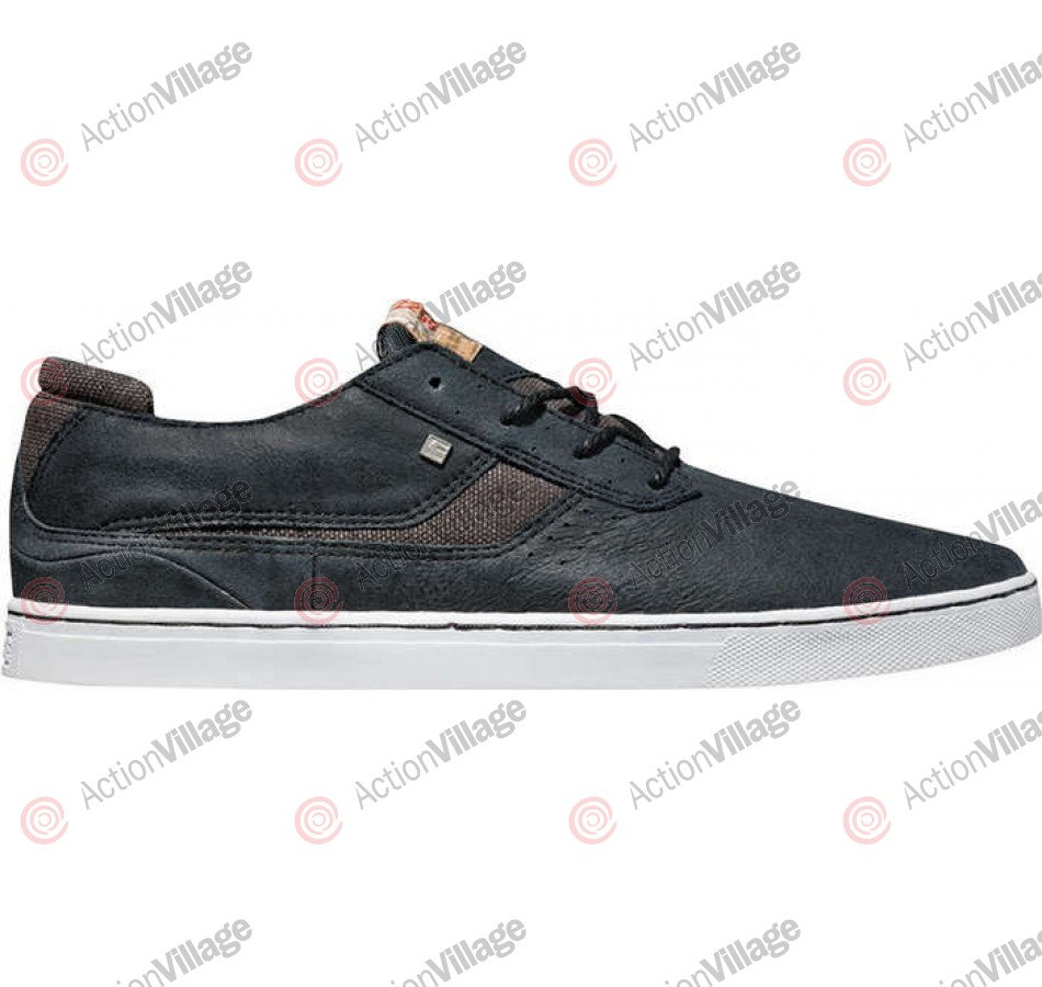Globe Comanche Low- Distressed Black - Skateboarding Shoes