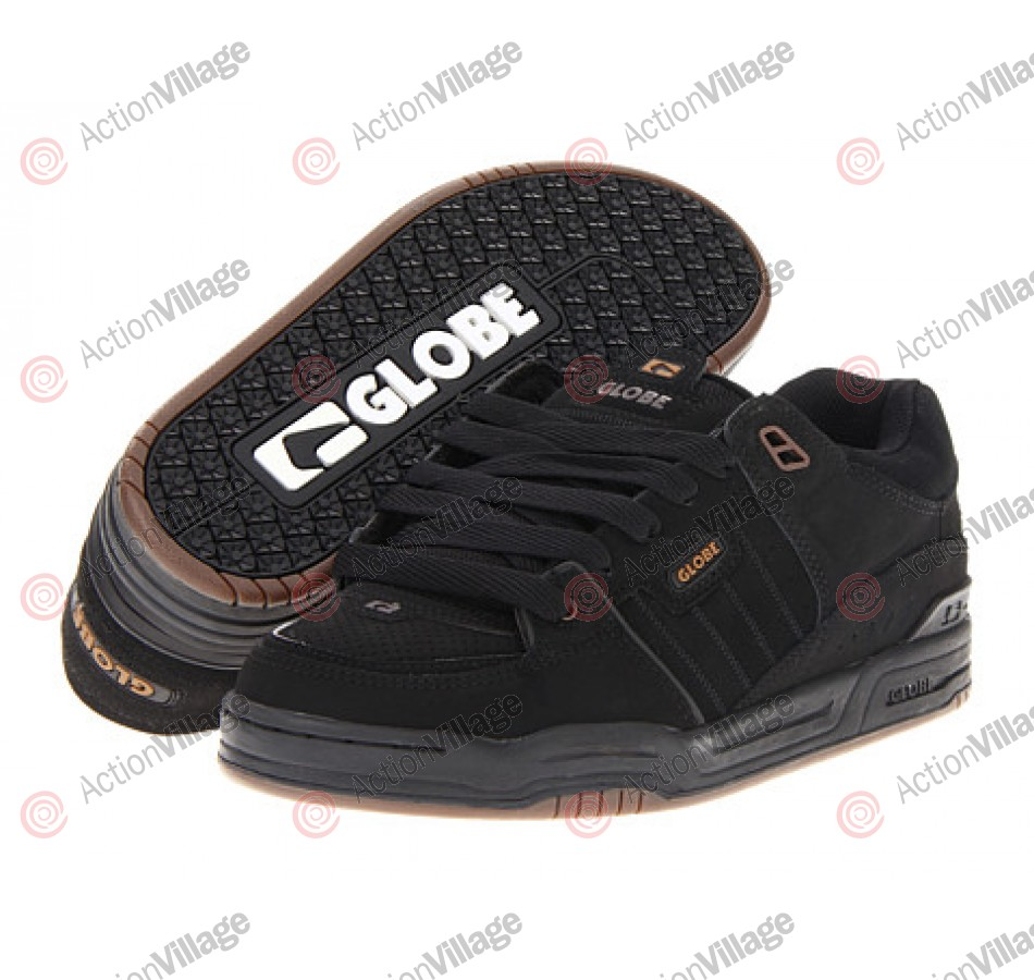 Globe Fusion - Black/Choco - Skateboard Shoes