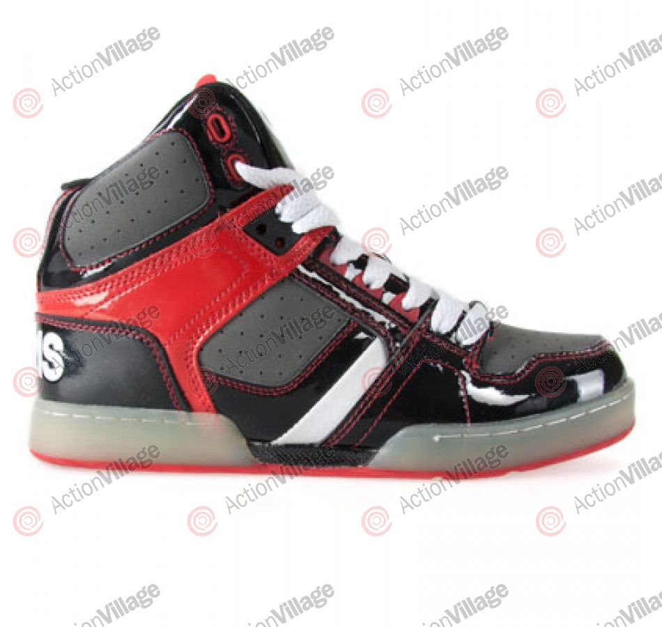 Osiris NYC 83 - Kids' Shoes Black / Grey / Red
