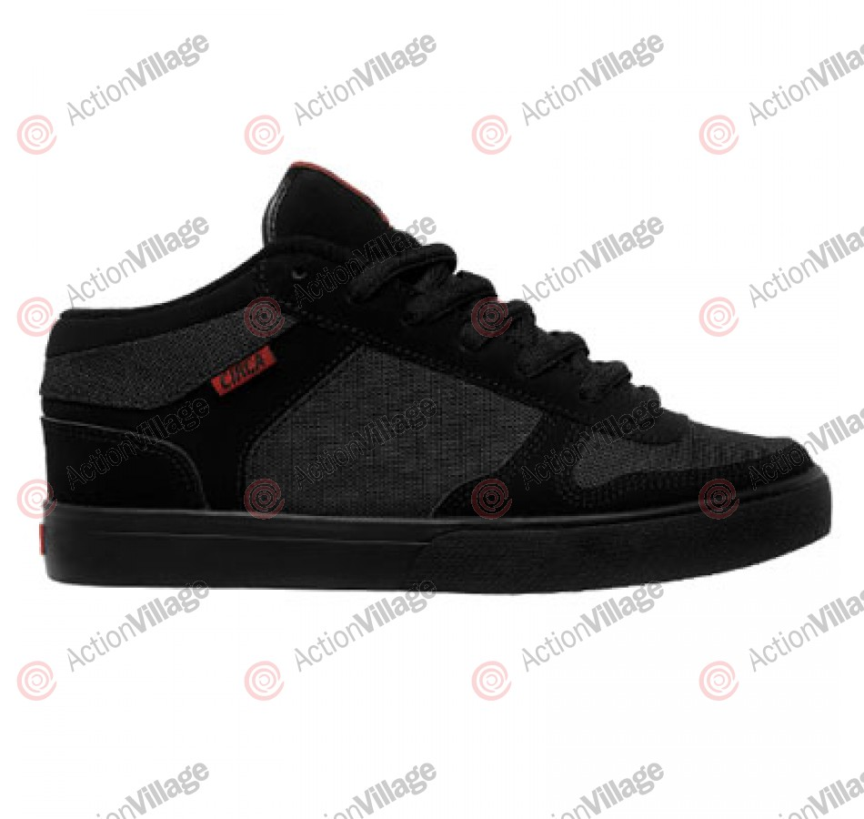 Circa 8 Track - Men's Shoes Black / Pompeian Red