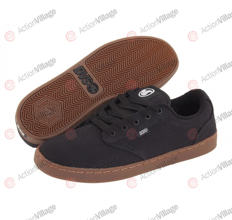 DVS Inmate - Black Canvas - Skateboard Shoes