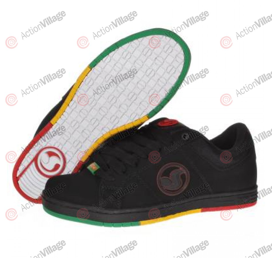 DVS Mastiff - Black Rasta - Skateboard Shoes